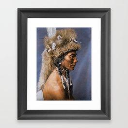Yellow Kidney - Piegan - Blackfoot American Indian Framed Art Print