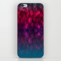 splash iPhone & iPod Skins featuring Splash by Aloke Design