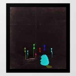 Color Founder Art Print