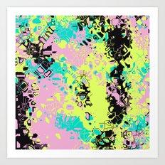 Broken Color Art Print