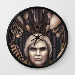 Giger Portrait Wall Clock