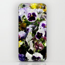 Viola tricolor iPhone Skin