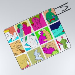 All I Wanna Do Picnic Blanket
