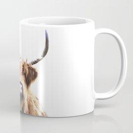 Highland Cow Portrait Coffee Mug