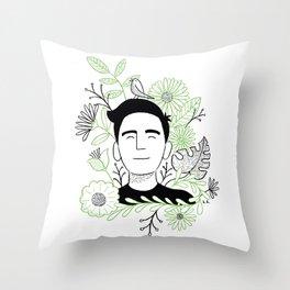 Nature Boy Throw Pillow
