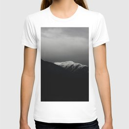 Don't stop / mountain photo art print / mountain poster T-shirt