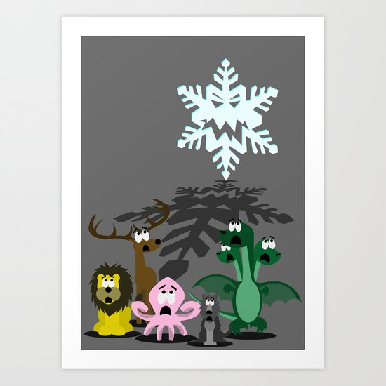 Winter is Coming... Art Print