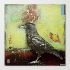 Crow3 Canvas Print