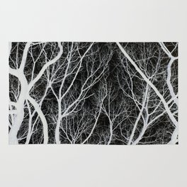 Abstract Tree Branches Rug
