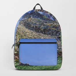 Mont Blanc Glacier Lake Backpack