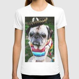 Pug Cinco de Puggo  T-shirt