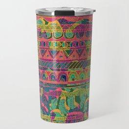 Tribal Stripe Travel Mug