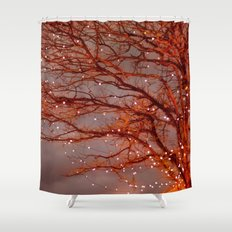 Magical In Red Shower Curtain
