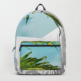 Palms In My Tropical Backyard Backpack