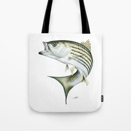 Striped Bass Tote Bag