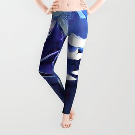 Hydrangea Puff Leggings