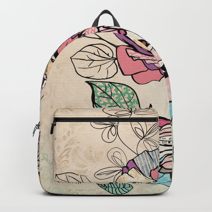 Paper Flowers #6 Backpack