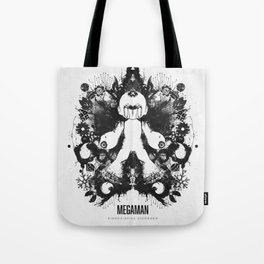 Megaman Geek Ink Blot Test Tote Bag