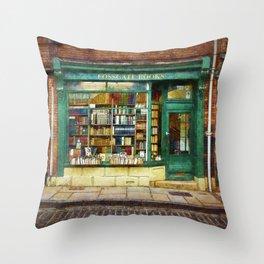 Fossgate Books Throw Pillow