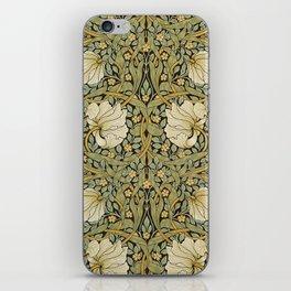William Morris Pimpernel Art Nouveau Floral Pattern iPhone Skin