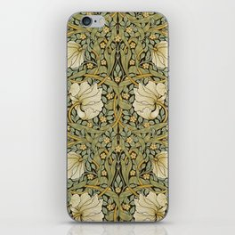 William Morris Pimpernel Art Nouveau Floral Pattern iPhone Skin