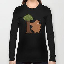 Bear and Madrono Long Sleeve T-shirt