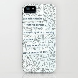 Meaningless iPhone Case