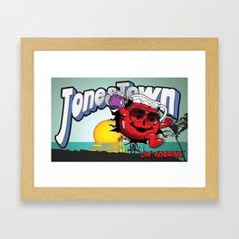 Jonestown, Oh Yeah! Framed Art Print