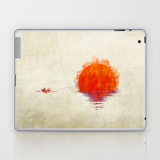The Fisherman and His Boy Laptop & iPad Skin
