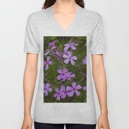 Floral Print 068 Unisex V-Neck