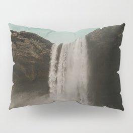 Iceland Waterfall x Skógafoss Pillow Sham
