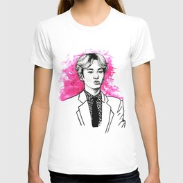 Pink SHINee Key Kibum T-shirt