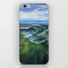 Sea Painting iPhone & iPod Skin