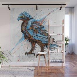 Vivid Hawk Wall Mural