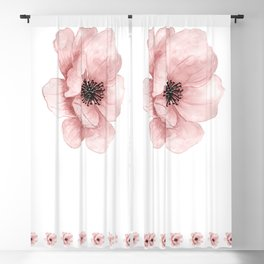 Flower 21 Art Blackout Curtain
