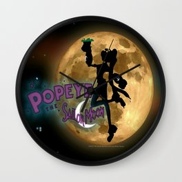 POPEYE THE SAILOR MOON - 001 Wall Clock