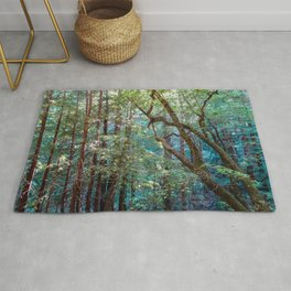 Lost in the Redwoods Rug