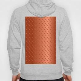 Copper Diamond Plate Hoody