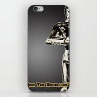 c3po iPhone & iPod Skins featuring C3PO by KL Design Solutions