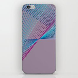 Gradient Triangles iPhone Skin