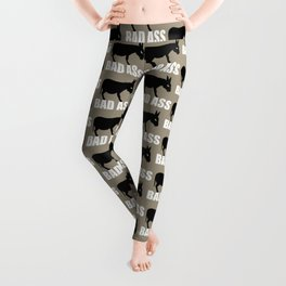 Angry Animals: Bad Ass Donkey Leggings