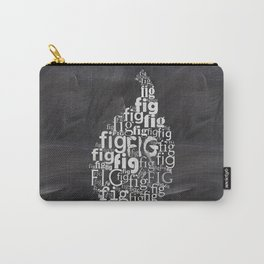 Fig on chalkboard Carry-All Pouch