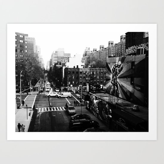 25th St. Art Print