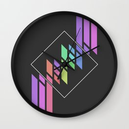 Dream Pallete Wall Clock
