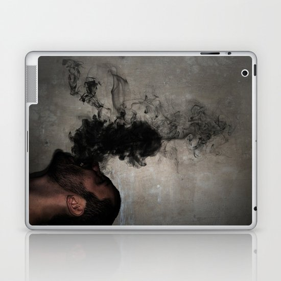 Letting the darkness out Laptop & iPad Skin