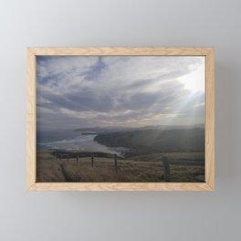 Overlooking Smaills Beach Framed Mini Art Print