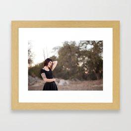 Tatum - By JCasillas Photography - Local Murrieta, CA Photographer Framed Art Print