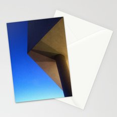 The sky has corners Stationery Cards
