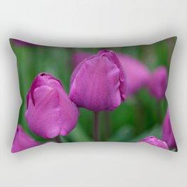 Sensual tulips Rectangular Pillow