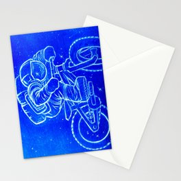 Astronaut Bicycle 2 Stationery Cards